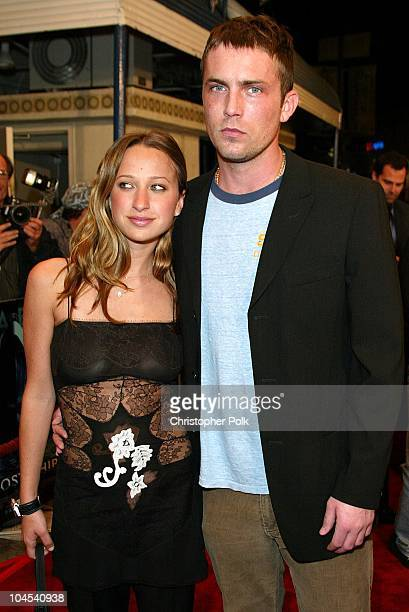 Jennifer Meyer and Desmond Harrington during Ghost Ship Premiere at Mann Village in Los Angeles CA United States