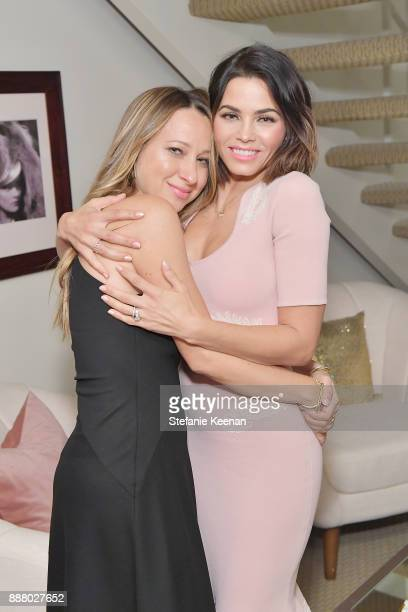 Jennifer Meyer and Jenna Dewan Tatum attend Giltcom Jennifer Meyer Jenna Dewan Tatum Launch Exclusive Jewelry Collection Benefitting Baby2Baby at...