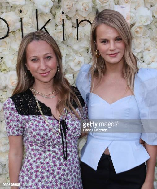 Jennifer Meyer and Kelly Sawyer attend the Gigi C Bikinis PopUp Launch Event at The Park at The Grove on May 17 2018 in Los Angeles California