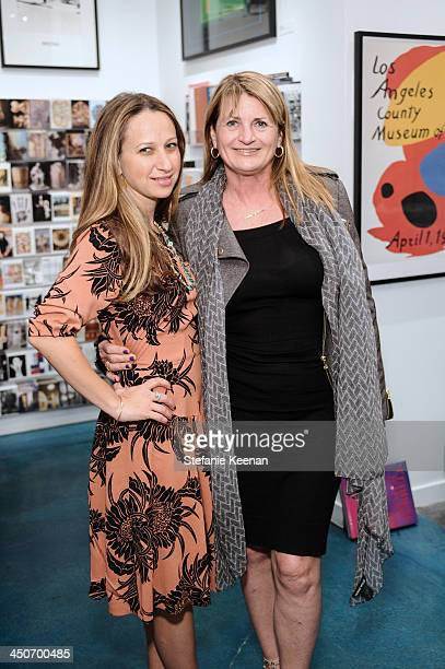 Jennifer Meyer and Marilyn Heston attend LACMA's Director's Circle And NETAPORTERCOM Celebrate The Fall 2013 Collection For Wear LACMA at LACMA on...