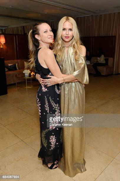 Jennifer Meyer and Rachel Zoe attend Rachel Zoe's Los Angeles Presentation at Sunset Tower Hotel on February 6 2017 in West Hollywood California