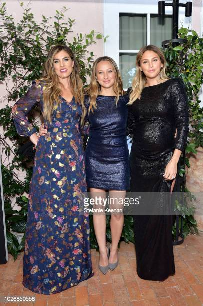 Jennifer Meyer and Yael Braun attend Rachel Zoe Spring 2019 LA Presentation at Hotel BelAir on September 4 2018 in Los Angeles California