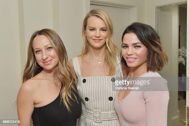 Jennifer Meyer Kelly Sawyer Patricof and Jenna Dewan Tatum attend Giltcom Jennifer Meyer Jenna Dewan Tatum Launch Exclusive Jewelry Collection...