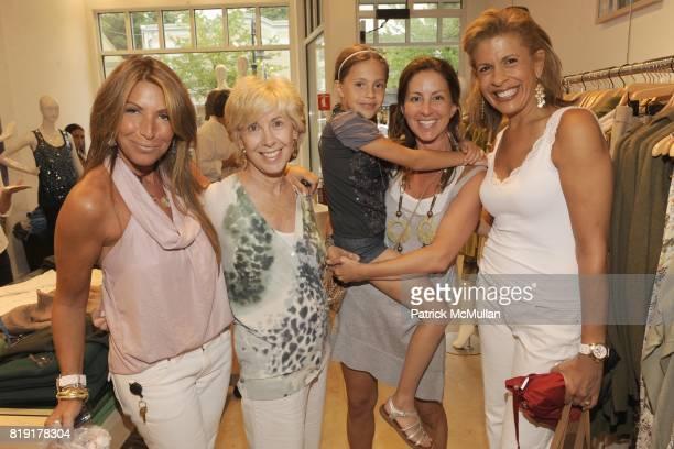 Jennifer Miller Marlene Cohen Bella Cuomo Liz Cohen and Hoda Kotb attend CARLOS FALCHI JEFFREY THORPE Host A TwoDay Presentation at Magaschoni on...