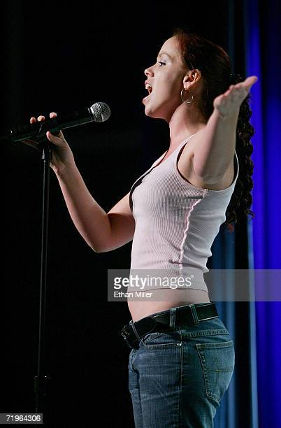 Jennifer Miller of Nevada auditions for the USA Network's 'Nashville Star' television series at the Sunset Station Hotel Casino on September 21 2006...