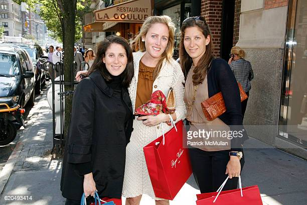 Jennifer Millstone Kate Meckler and Eleanor Propp attend ROGER VIVIER hosts luncheon for Children's Health Services at NEW YORKPRESBYTERIAN at Roger...