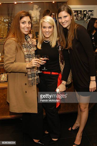 Jennifer Minogue Courtney Severin and Laura Martin attend ROBERT LEE MORRIS Warhol Factory X Collection Preview at The Robert Lee Morris Gallery on...