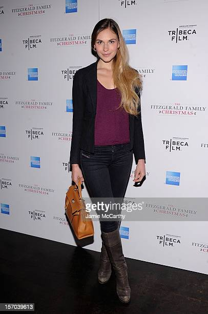Jennifer Missoni attends the Tribeca Film's Special New York Screening Of The Fitzgerald Family Christmas at the Tribeca Grand Hotel on November 27...