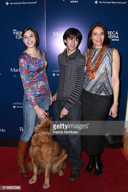 Jennifer Missoni Lucky Michelangelo Missoni and Judith Missoni attend Special Screening of MARLEY AND ME Hosted by JANE ROSENTHAL BETH OSTROSKY and...