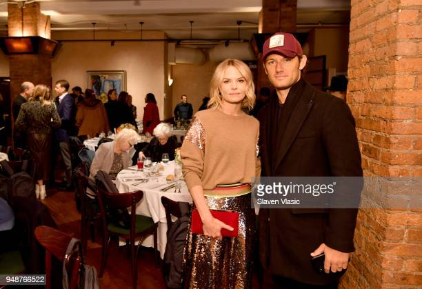 Jennifer Morrison and Alex Pettyfer attend the Jury Welcome Lunch 2018 Tribeca Film Festival at Tribeca Grill Loft on April 19 2018 in New York City