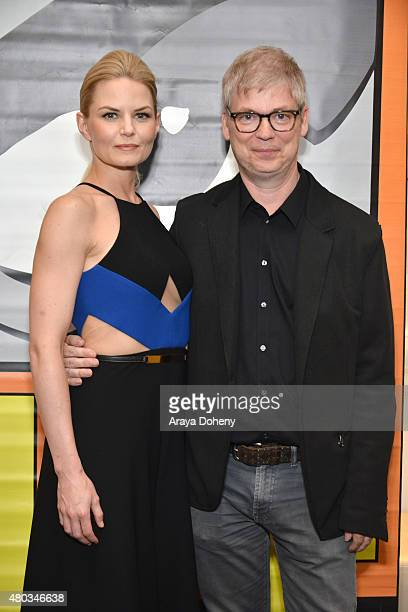 Jennifer Morrison and Chris Peters attend the ComicCon International 2015 'To Dust Return' Panel at the Manchester Grand Hyatt on July 10 2015 in San...