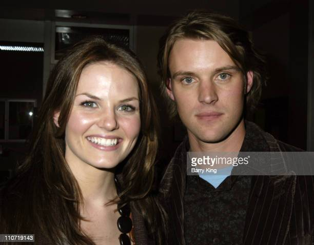 Jennifer Morrison and Jesse Spencer during House Press Party for TCA at Fox Backlot Soundstages in Los Angeles California United States