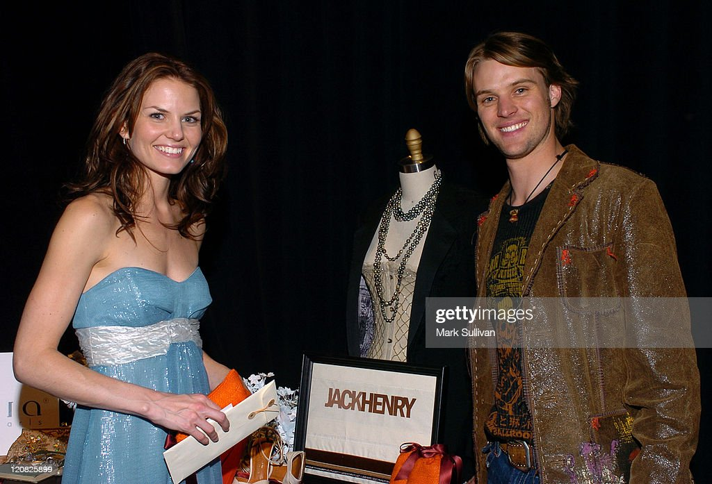 Jennifer Morrison and Jesse Spencer, presenters during The Flavia Fusion Retreat by Backstage Creations at the 2005 Billboard Music Awards - Day 2 at MGM in Las Vegas, NV, United States.