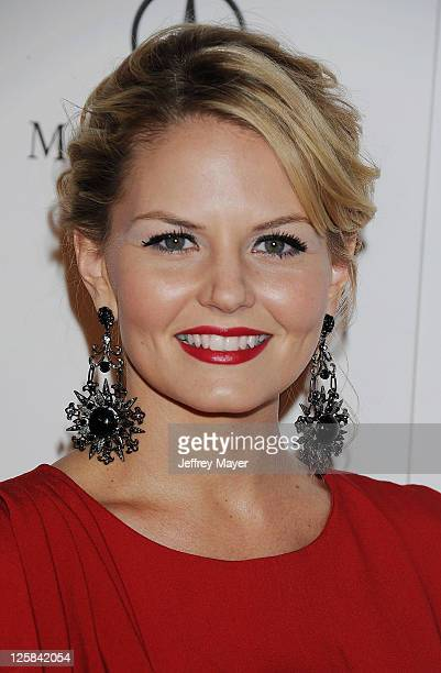 Jennifer Morrison arrives at Art Of Elysium's 4th Annual 'Heaven' Charity Gala at California Science Centers Wallis Annenberg Building on January 15...