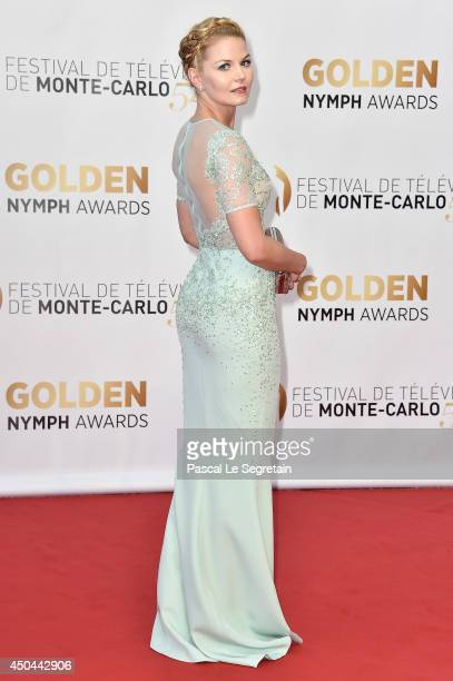 Jennifer Morrison arrives at the closing ceremony of the 54th MonteCarlo Television Festival on June 11 2014 in MonteCarlo Monaco