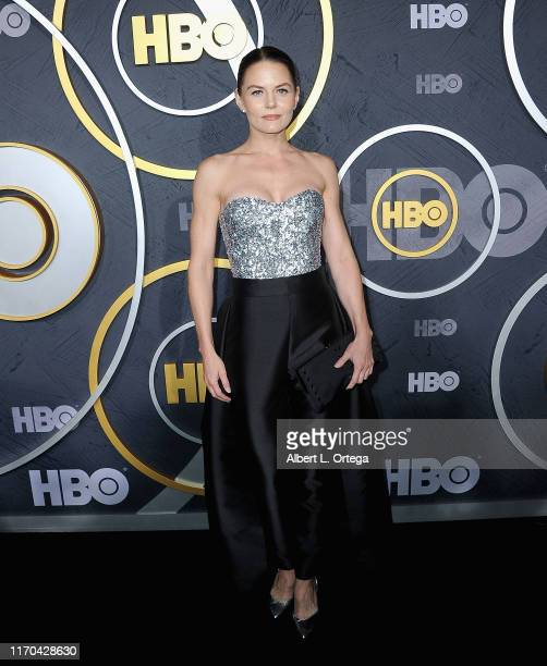 Jennifer Morrison arrives for the HBO's Post Emmy Awards Reception held at The Plaza at the Pacific Design Center on September 22, 2019 in West...