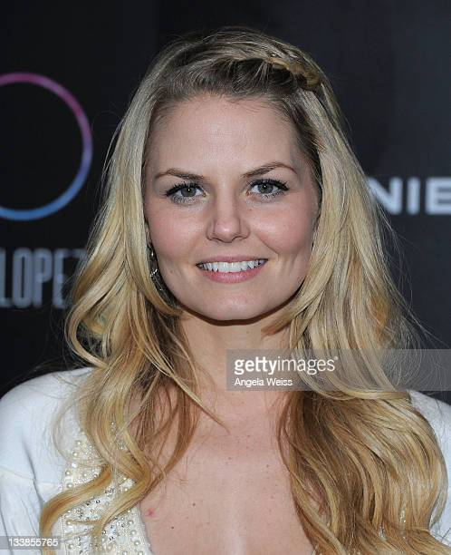 Jennifer Morrison arrives to Jennifer Lopez's 2011 American Music Awards PostParty at Greystone Manor Supperclub on November 20 2011 in Los Angeles...