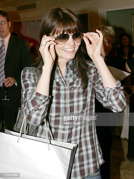 Jennifer Morrison at Ray Ban during Luxottica Luxury Eyewear Suite at the HBO Luxury Lounge Day 1 at The Peninsula Hotel in Beverly Hills California...