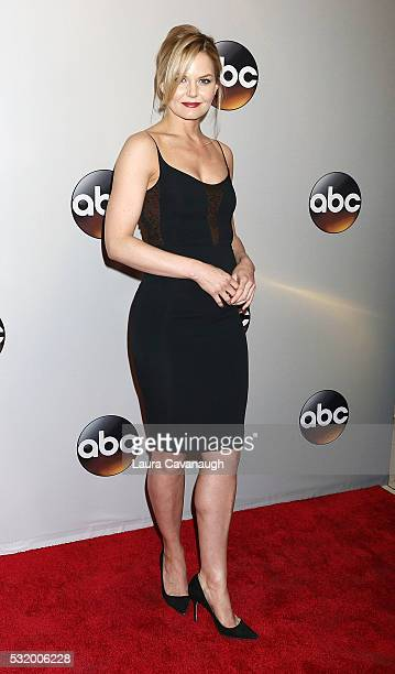 Jennifer Morrison attends 2016 ABC Upfront at David Geffen Hall on May 17 2016 in New York City