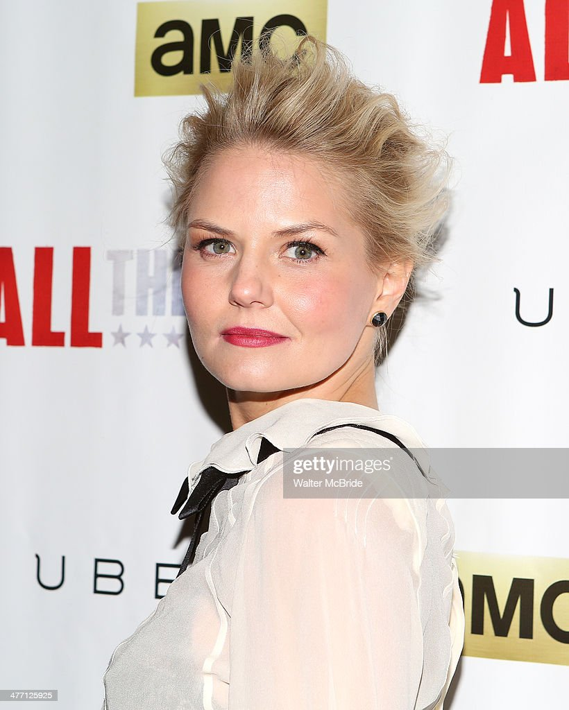 Jennifer Morrison attends 'All The Way' opening night at Neil Simon Theatre on March 6, 2014 in New York City.