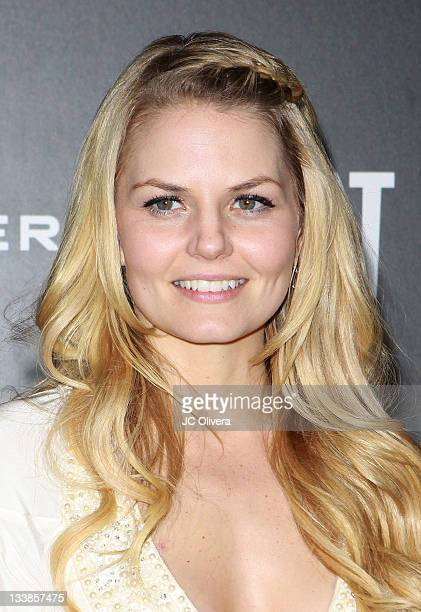 Jennifer Morrison attends Jennifer Lopez's 2011 American Music Awards PostParty held at the Greystone Manor Supperclub on November 20 2011 in Los...