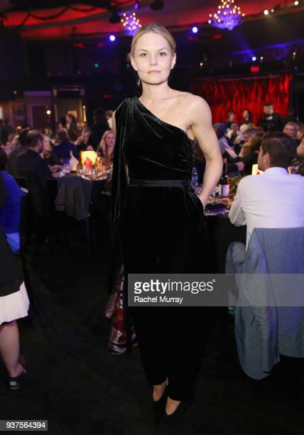 Jennifer Morrison attends Seth Rogen's Hilarity For Charity at Hollywood Palladium on March 24 2018 in Los Angeles California