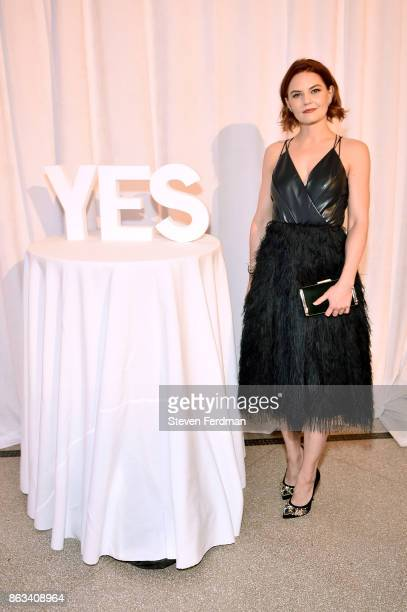 Jennifer Morrison attends the 2017 Yes Gala at Brooklyn Museum on October 19 2017 in New York City