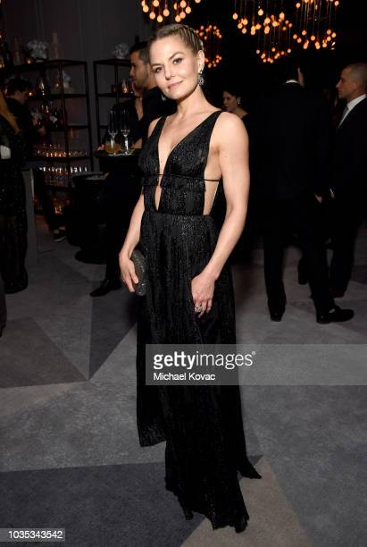 Jennifer Morrison attends the 2018 Netflix Primetime Emmys After Party at NeueHouse Hollywood on September 17 2018 in Los Angeles California