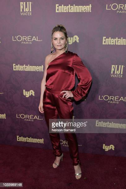 Jennifer Morrison attends the 2018 PreEmmy Party hosted by Entertainment Weekly and L'Oreal Paris at Sunset Tower on September 15 2018 in Los Angeles...