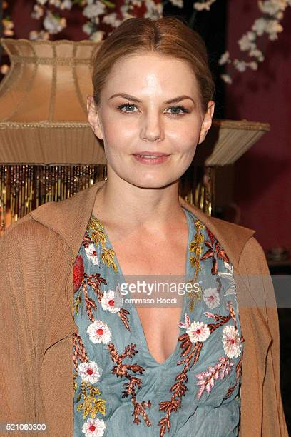 Jennifer Morrison attends the alice olivia By Stacey Bendet And Neiman Marcus Present SeeNowBuyNow Runway Show at NeueHouse Los Angeles on April 13...