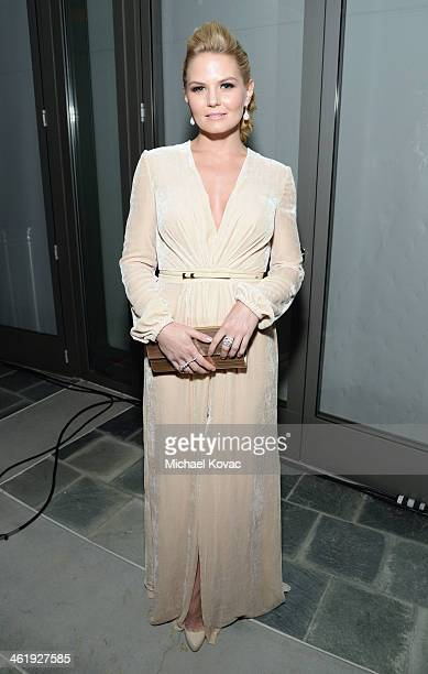 Jennifer Morrison attends The Art of Elysium's 7th Annual HEAVEN Gala presented by MercedesBenz at Skirball Cultural Center on January 11 2014 in Los...