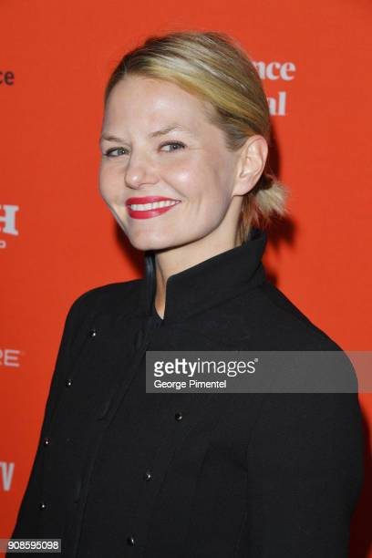 Jennifer Morrison attends the Assassination Nation Premiere during the 2018 Sundance Film Festival at Park City Library on January 21 2018 in Park...