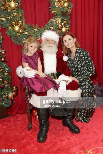 Jennifer Morrison attends the Brooks Brothers holiday celebration with St Jude Children's Research Hospital at Brooks Brothers Rodeo on December 2...