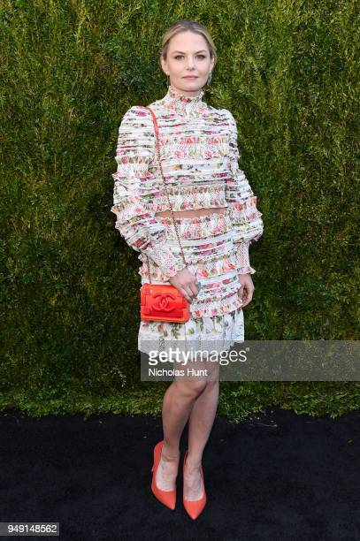 Jennifer Morrison attends the CHANEL Tribeca Film Festival Women's Filmmaker Luncheon at Odeon on April 20 2018 in New York City
