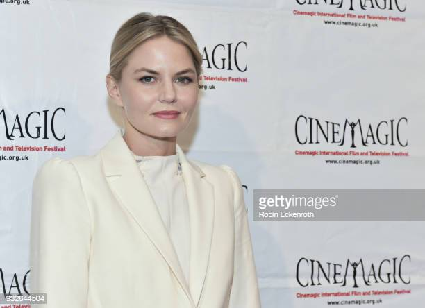 Jennifer Morrison attends the Cinemagic Annual Gala at The Fairmont Miramar Hotel Bungalows on March 15 2018 in Santa Monica California