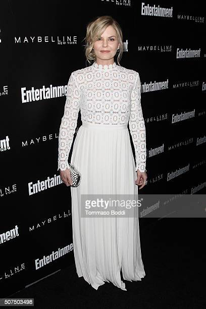 Jennifer Morrison attends the Entertainment Weekly's Celebration Honoring The 2016 SAG Awards Nominees held at Chateau Marmont on January 29 2016 in...