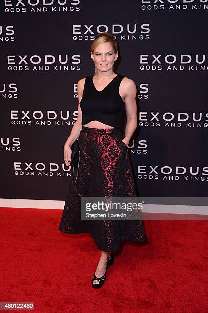 Jennifer Morrison attends the Exodus Gods And Kings New York premiere at the Brooklyn Museum on December 7 2014 in New York City
