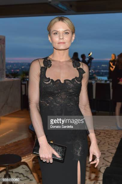 Jennifer Morrison attends The Hollywood Reporter and Jimmy Choo Power Stylists Dinner on March 20 2018 in Los Angeles California