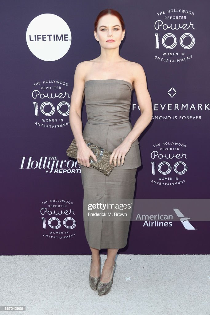 Jennifer Morrison attends The Hollywood Reporter's 2017 Women In Entertainment Breakfast at Milk Studios on December 6, 2017 in Los Angeles, California.