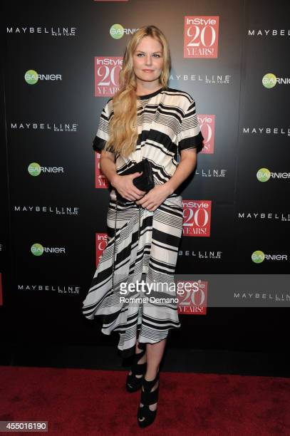 Jennifer Morrison attends the Instyle Hosts 20th Anniversary Party at Diamond Horseshoe at the Paramount Hotel on September 8 2014 in New York City