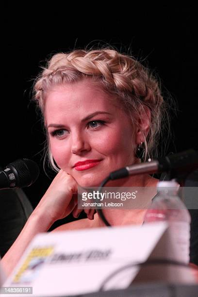 """Jennifer Morrison attends the """"Once Upon A Time"""" Panel - Comic-Con International 2012 at San Diego Convention Center on July 14, 2012 in San Diego,..."""