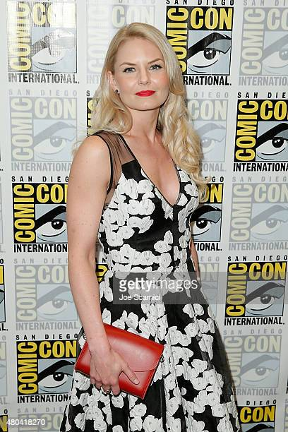 Jennifer Morrison attends the Once Upon a Time press line at ComicCon International 2015 Day 3 on July 11 2015 in San Diego California