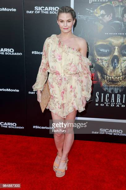Jennifer Morrison attends the premiere of Columbia Pictures' 'Sicario Day Of The Soldado' at Regency Village Theatre on June 26 2018 in Westwood...
