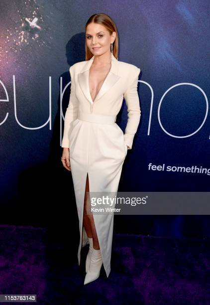 Jennifer Morrison attends the LA Premiere of HBO's Euphoria at The Cinerama Dome on June 04 2019 in Los Angeles California