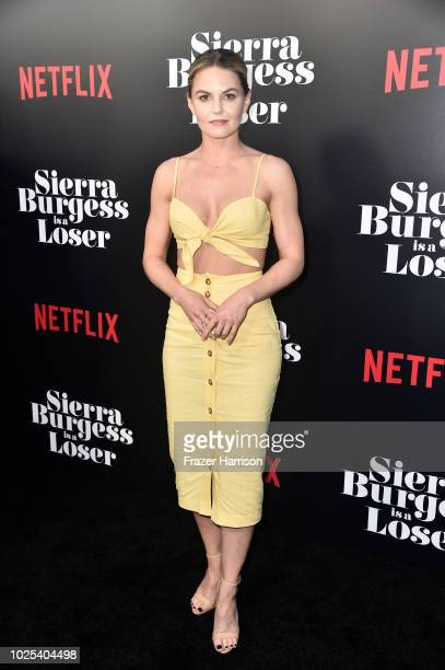 Jennifer Morrison attends the Premiere Of Netflix's 'Sierra Burgess Is A Loser' at ArcLight Hollywood on August 30 2018 in Hollywood California