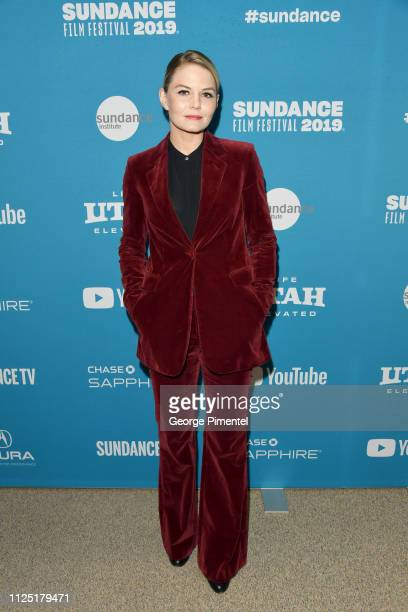 Jennifer Morrison attends the The Report Premiere during the 2019 Sundance Film Festival at Eccles Center Theatre on January 26 2019 in Park City Utah