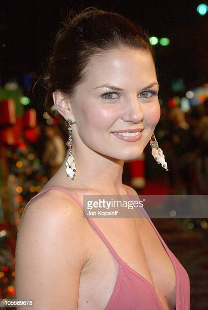 Jennifer Morrison during Surviving Christmas Los Angeles Premiere Red Carpet at Mann Grauman's Chinese Theater in Hollywood California United States