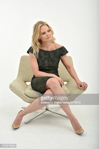Jennifer Morrison from Warning Labels appears at the 2015 Tribeca Film Festival Getty Images Studio on April 18 2015 in New York City