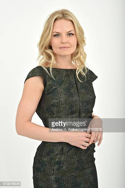 Jennifer Morrison from 'Warning Labels' appears at the 2015 Tribeca Film Festival Getty Images Studio on April 18 2015 in New York City
