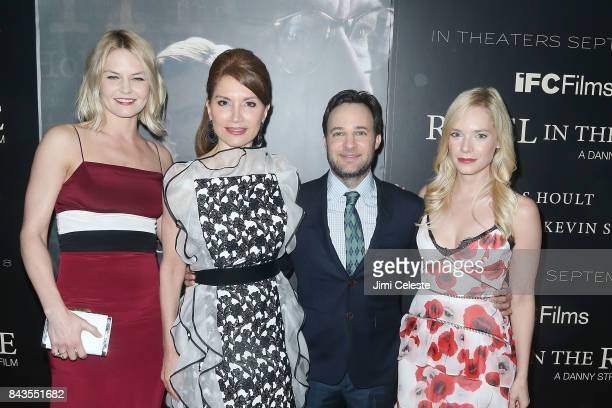 Jennifer Morrison Jean Shafiroff Danny Strong and Caitlin Mehner attend 'Rebel in the Rye' screening and after party hosted by Jean Shafiroff and IFC...